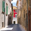 Stock Photo: Alleyway. Narni. Umbria. Italy.