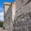 Stock Photo: Albornoz fortress. Narni. Umbria. Italy.