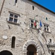 Communal palace. Narni. Umbria. Italy. - Stock Photo