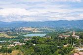 Panoramic view of Narni. Umbria. Italy. — Stock Photo