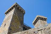 замок болсена. лацио. италия. — Стоковое фото