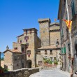 Alleyway. Bolsena. Lazio. Italy. — Stock Photo
