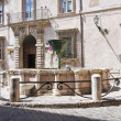 Monumental fountain. Narni. Umbria. Italy. — Stock Photo #12676602