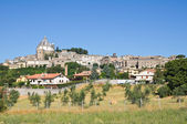 Panoramic view of Montefiascone. Lazio. Italy. — Stock Photo