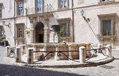 Fuente monumental. narni. umbria. italia. — Foto de Stock