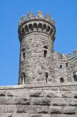 Zamek torre alfina. lazio. włochy. — Zdjęcie stockowe