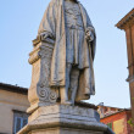 ������, ������: Girolamo Fabrizi Statue Acquapendente Lazio Italy
