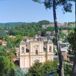 Stock Photo: Panoramic view of Acquapendente. Lazio. Italy.