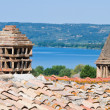 Panoramic view of Bolsena. Lazio. Italy. — Stock fotografie