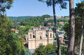 Panoramic view of Acquapendente. Lazio. Italy. — Stock Photo