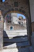 Alleyway. Torre Alfina. Lazio. Italy. — Stock Photo