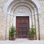 Church of St. Lucia. Amelia. Umbria. Italy. — Stock Photo #12756881
