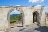 Porta posterola. amelia. umbria. itália. — Fotografia Stock