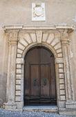 Historical palace. Amelia. Umbria. Italy. — Stock Photo