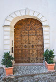 Wooden door. San Gemini. Umbria. Italy. — Stockfoto