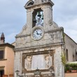 Stock Photo: Clocktower. Sutri. Lazio. Italy.