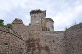 Castle of Borgia. Nepi. Lazio. Italy. — Стоковое фото