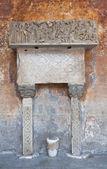 Cattedrale di nepi. lazio. italia. — Foto Stock