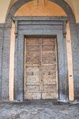 Town Hall Building. Nepi. Lazio. Italy. — Stock Photo