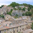 Panoramic view of Calcata. Lazio. Italy. — ストック写真