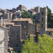 Panoramic view of Ronciglione. Lazio. Italy. — Stock Photo