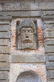 Palacio farnese. caprarola. lazio. italia. — Foto de Stock