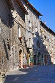 Alleyway. Ronciglione. Lazio. Italy. — Стоковое фото