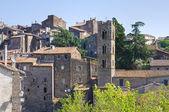 Panoramic view of Ronciglione. Lazio. Italy. — Stock Photo