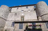 Anguillara 城堡。ronciglione。拉齐奥。意大利. — 图库照片