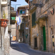 Alleyway. Soriano nel Cimino. Lazio. Italy. - Stock Photo