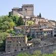 Panoramic view of Soriano nel Cimino. Lazio. Italy. — Stock Photo #12904580