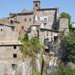 Panoramic view of Vitorchiano. Lazio. Italy. — Stock Photo