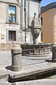 Fontana vecchia. Soriano nel Cimino. Lazio. Italy. — Stock Photo