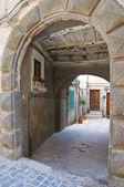 Alleyway. Soriano nel Cimino. Lazio. Italy. — Stock Photo