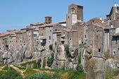 Panoramiczny widok vitorchiano. lazio. włochy. — Zdjęcie stockowe