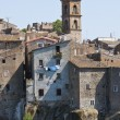 Panoramic view of Vitorchiano. Lazio. Italy. - Foto de Stock