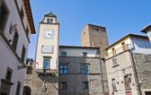 Town Hall Building. Vitorchiano. Lazio. Italy. — Stock Photo