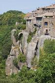 Vista panoramica di vitorchiano. lazio. italia. — Foto Stock