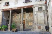 Edifício da câmara municipal. bagnaia. lazio. itália. — Foto Stock