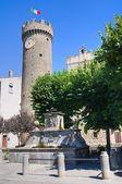 View of Bagnaia. Lazio. Italy. — Stock Photo