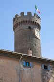 Tower of Bagnaia. Lazio. Italy. — Stock Photo