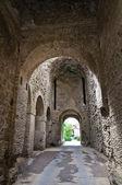 Porta romana. Nepi. Lazio. Italy. — Stock Photo