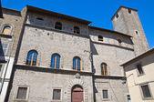 Chigi Palace. Viterbo. Lazio. Italy. — Stock Photo