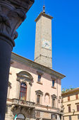 Palace of the Podesta. Viterbo. Lazio. Italy. — Stockfoto