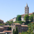 Stock Photo: Panoramic view of Viterbo. Lazio. Italy.