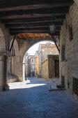 Alleyway. Viterbo. Lazio. İtalya. — Stok fotoğraf