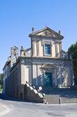Kostel visitazione. viterbo. lazio. itálie. — Stock fotografie