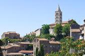 Viterbo panoramik manzaralı. lazio. i̇talya. — Stok fotoğraf