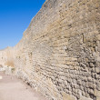 Fortified walls. Tarquinia. Lazio. Italy. — Stock Photo
