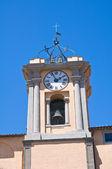 Edificio del municipio. tarquinia. lazio. italia. — Foto Stock